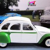 FASCICULE N°10 CITROEN 2CV DOLLY NOREV 1/43. - car-collector.net: collection voitures miniatures