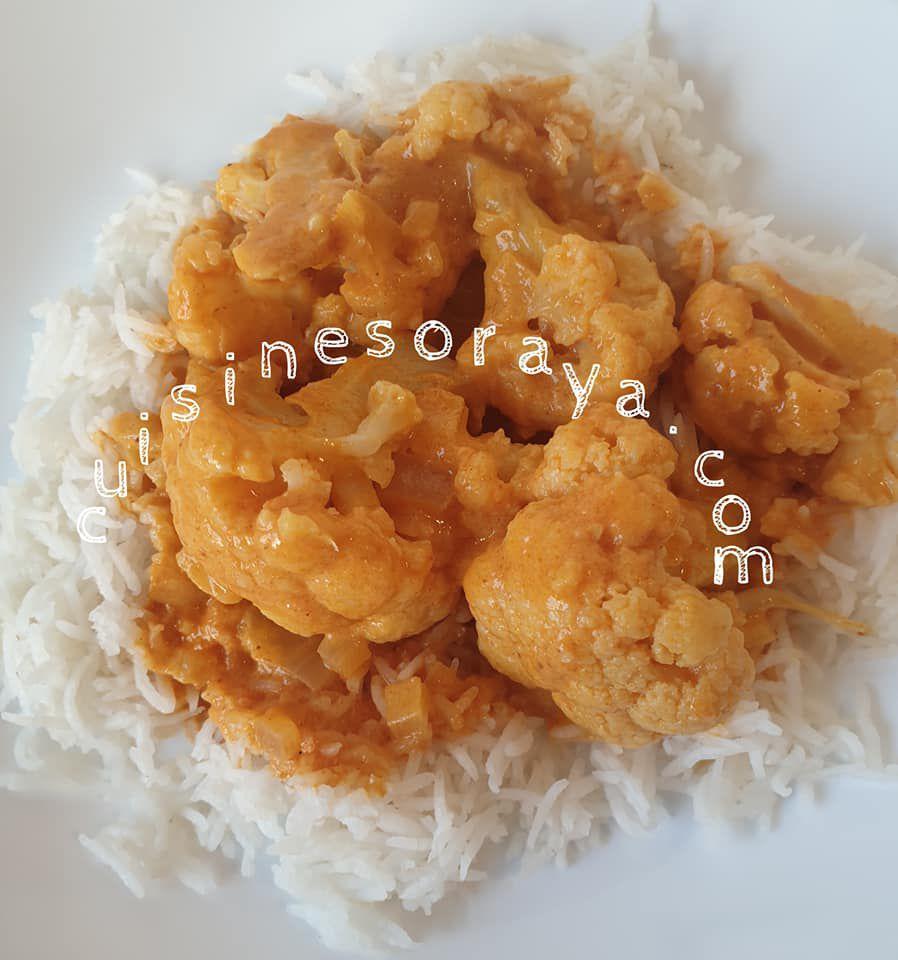 Curry de chou fleur