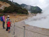 L'activité volcanique du plateau de Dieng