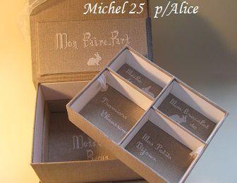 Je suis très triste, Michel 25 est parti ...
