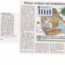 CZ 21.12.13 -- Wietze rechnet mit Rothkötter-Steuern