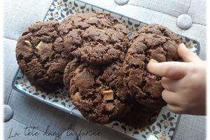 Cookies aux Chunks 3 Chocos