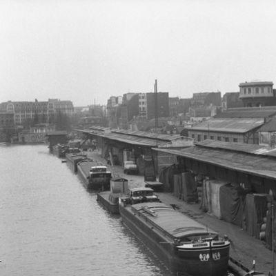 LE CANAL SAINT-MARTIN AU MILIEU DU XXE SIÈCLE - reportage photo de Paris ZigZag