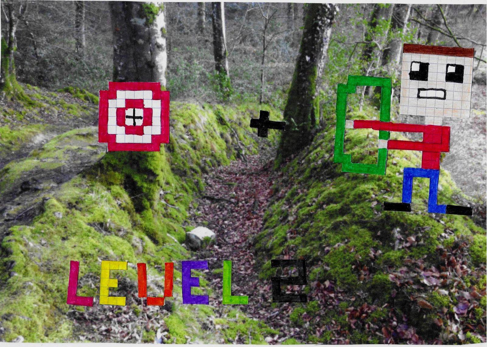 LEVEL 2 / pixel héros de Lilou / 5e2