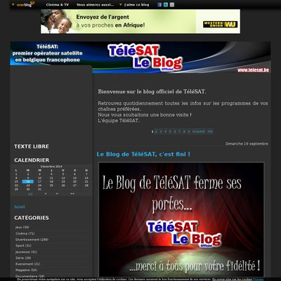 TéléSAT le blog officiel