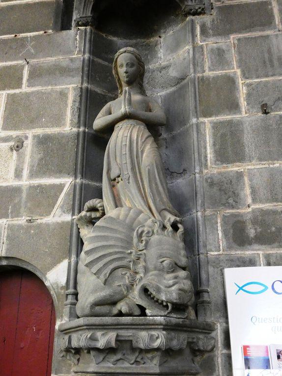 Sainte Catherine, Jeanne d'Arc et Marguerite