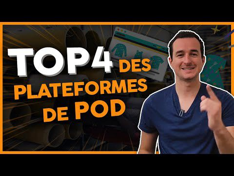 Top 4 marketplaces en print on demand
