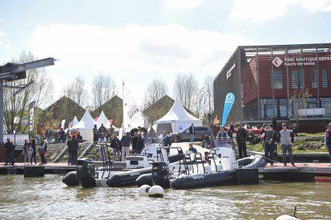Semi-rigides et coques open à essayer, du 12 au 14 Mai à Paris, à Boat en Seine