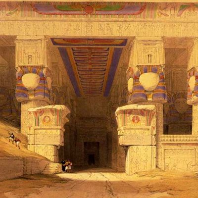 Denderah un temple initiatique