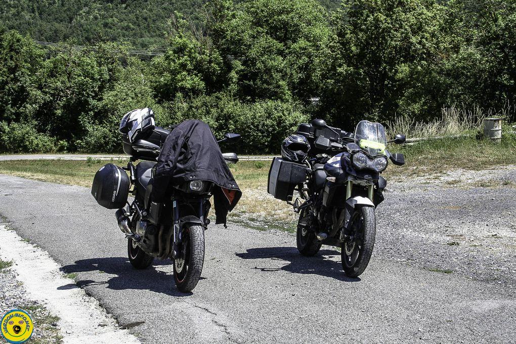 Visite  annuelle du Club de Moto de Gap