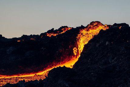 Éruption Du 7 Au 8 Décembre 2020