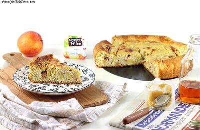 Tarte Normande Briochée aux Pommes {au bon goût de...}