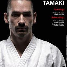 Léo Tamaki à Bruxelles, 6, 7 et 8 mars