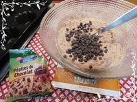 Briochettes healthy noisette et chocolat