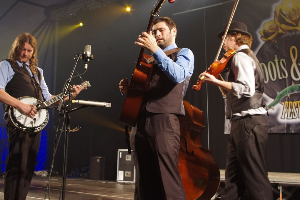 The Henhouse Prowlers - 1 mai 2014 - Roots & Roses festival, Lessines (B)