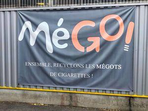 Visite de MéGO : recyclage des mégots de cigarettes
