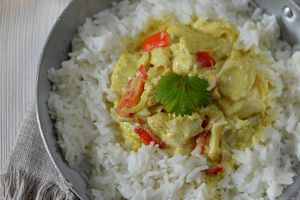 Curry de Cabillaud au Lait de CoCo ... tout Simplement