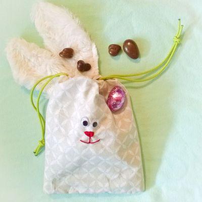 Le pochon lapin spécial Pâques