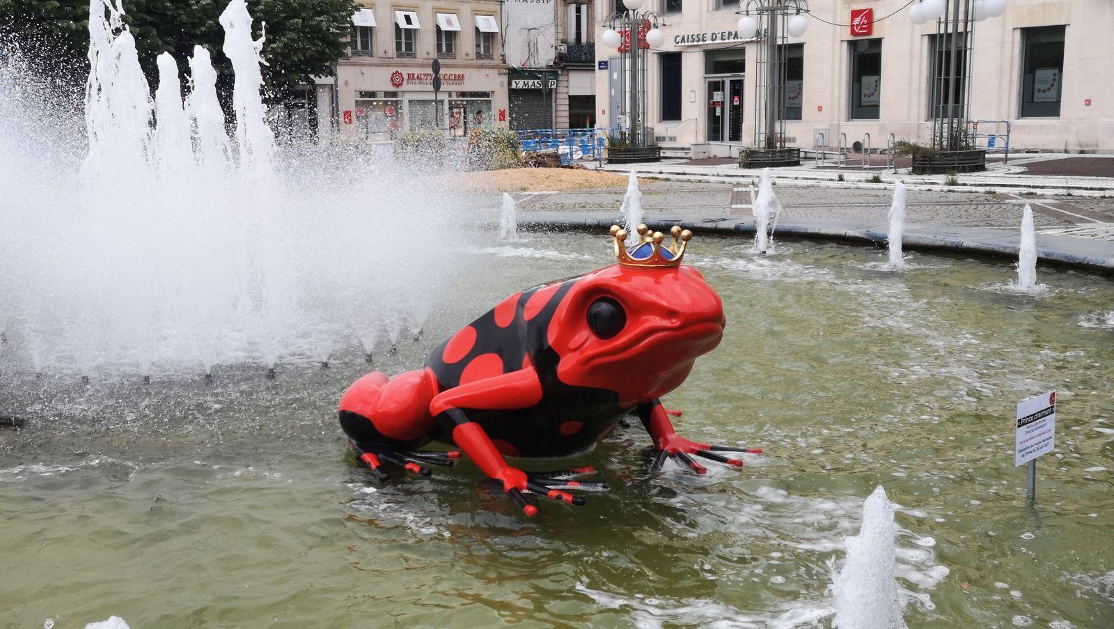 la grenouille de Marmande