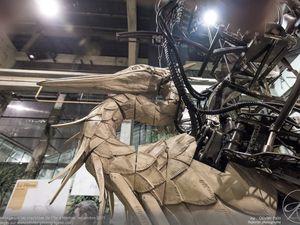 Le héron des machines de l'île à Nantes
