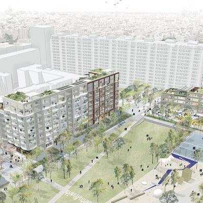 """Chapelle Charbon : premières esquisses """"non officielles"""" du projet urbain"""