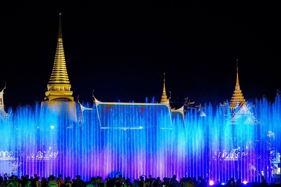 Spectacle son et lumière à Bangkok - Cérémonies du couronnement de Rama X (4)