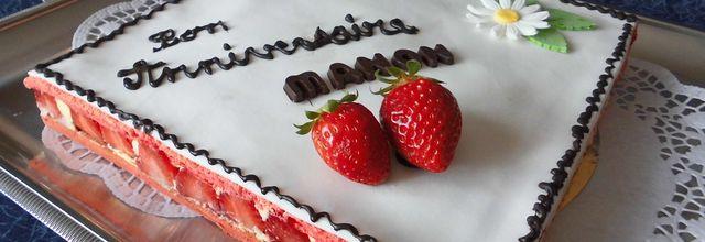 Le fraisier de Manon selon Christophe Felder