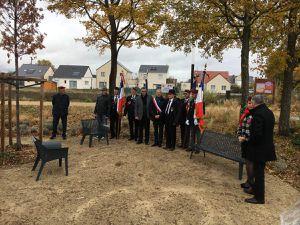 Inauguration du Square des Harkis à Ingré (45)