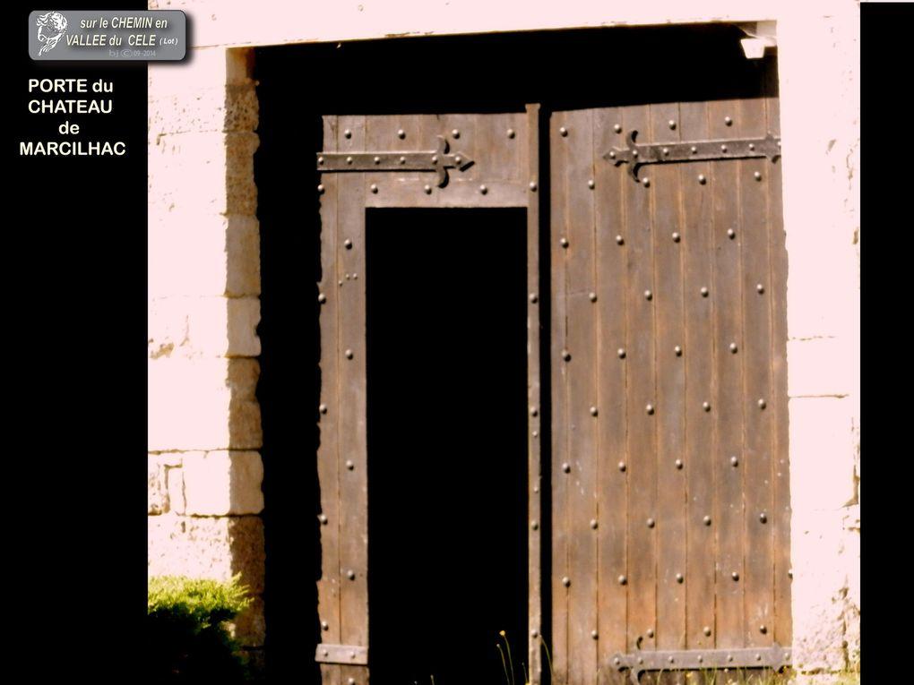 ( Lot - Quercy - FR)  VILLAGES DE BRENGUES - ST SULPICE sur Célé - MARCILHAC sur célé et leurs hameaux . . .