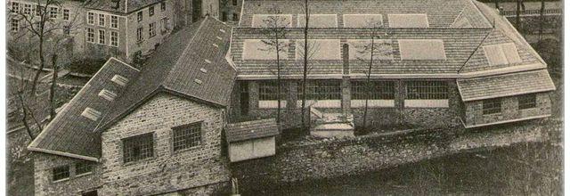 L'usine Villadère à Olliergues