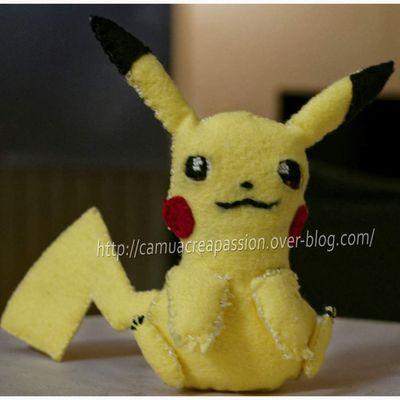 Peluche Pikachu [Couture]