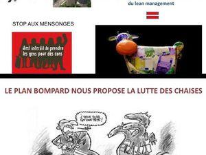 LA CGT PROPOSE UNE AUTRE VISION GLOBALE CONTRE LE PLAN BOMPARD