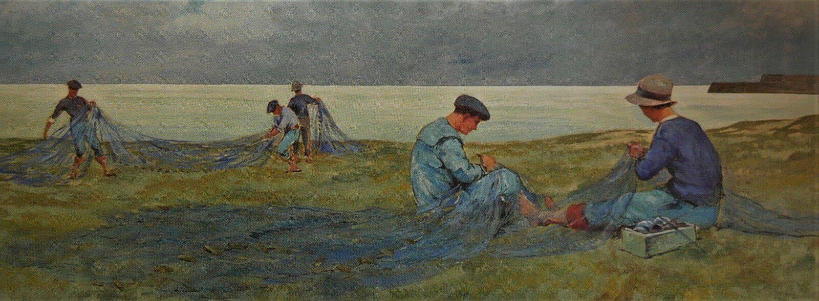 Louis Lessieux. Peintre oléronnais.