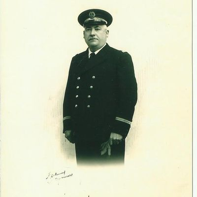 François Rolland né en 1891, capitaine au Long cours.