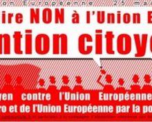 EUROPÉENNES 2014 : Robert Injey n'aime pas le BOYCOTT... (le PS, l'UMP, le MEDEF et le FN ne l'aiment pas non plus d'ailleurs)