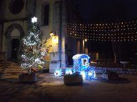 Barrême les illuminations de Noel sont en place