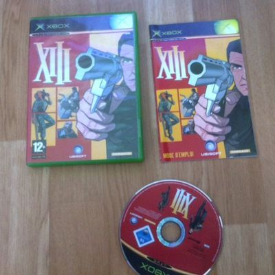 XIII XBOX COMPLET