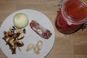 Sauce pour pâtes fraîches ou gnocchi