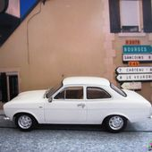 FORD ESCORT BLANCHE 1971 MINICHAMPS 1/43 - car-collector.net