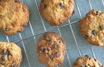 Recette : cookies sablés coco/choco