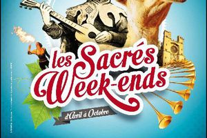 Animations de rue - L'Inquisiteur Raymond Robert et sa suite - Sacrés Week-ends de Béziers 2015