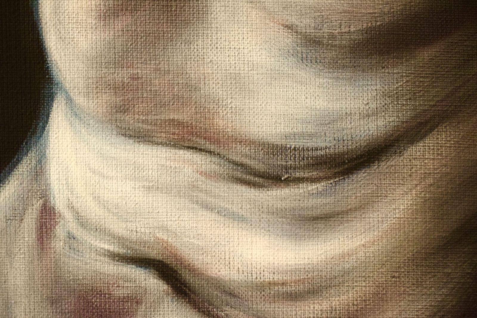 TENSIONS : Huile sur toile