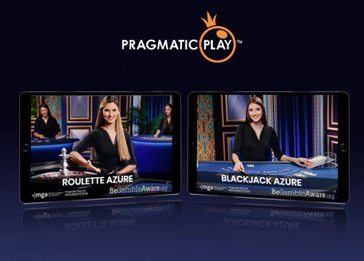 jeux casino en ligne live Pragmatic Play - Roulette Azure et Blackjack Azure