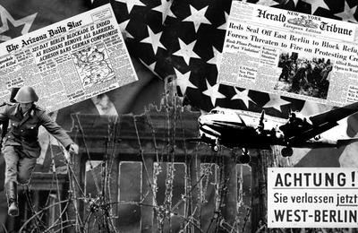 Berlin du blocus au Mur, Symbole de la Guerre Froide