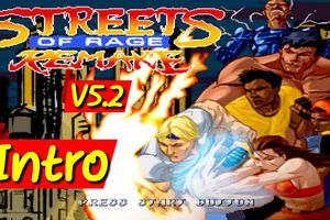 Streets Of Rage Remake V5.2 - Intro (Fangame)