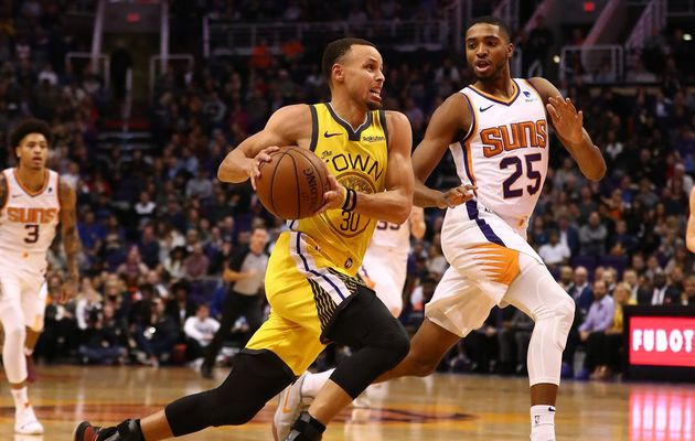 Stephen Curry porte Golden State