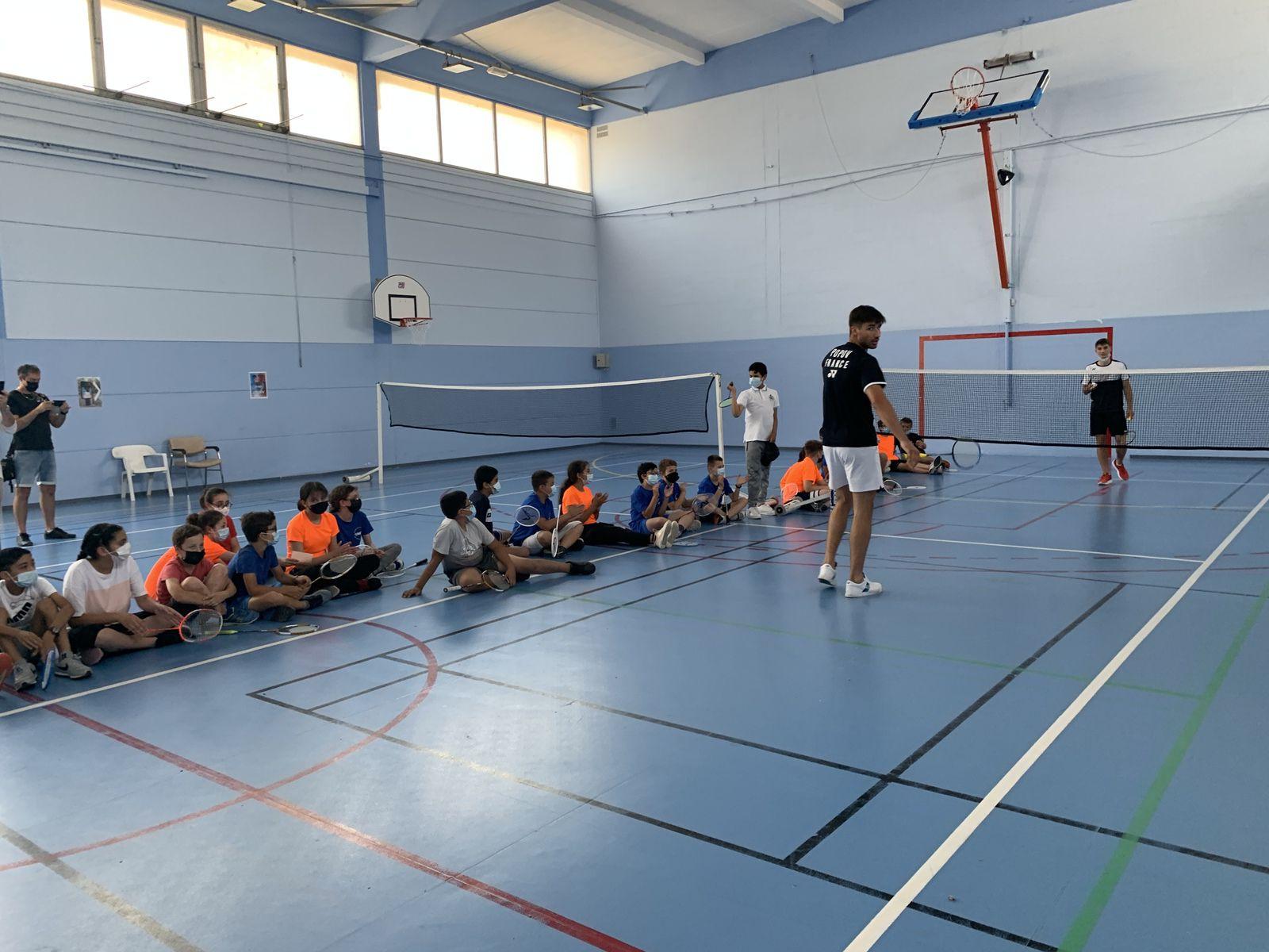 Une journée Olympique avec les frères POPOV au collège Voltaire à Sorgues