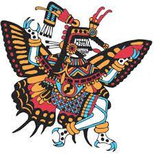 En náhuatl, papillon se dit papalotl, ce qui a donné naissance au mot papalote : cerf-volant.