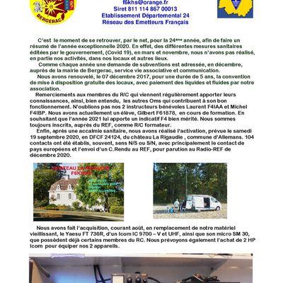 Un OM radioactif n° 24 - Janvier 2021