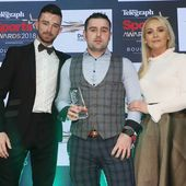 Watch: Brother Michael accepts award as William Dunlop inducted into Hall Of Fame on emotional night at Belfast Telegraph Sports Awards